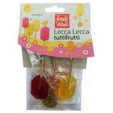 Acadele bio cu fructe Lollypops x 62.5g Baule Volante