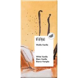 Ciocolata alba cu vanilie bio x 80g Vivani