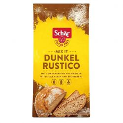 Mix per Pane Rustico Faina fara gluten pentru paine neagra x 1000 g Dr. Schar