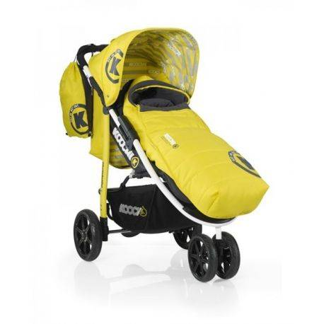 Carucior Koochi Pushmatic- Primary Yellow Koochi
