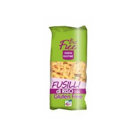 Paste bio Fusilli din orez (fara gluten) x 500g