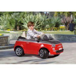 Fiat 500 Red/Grey