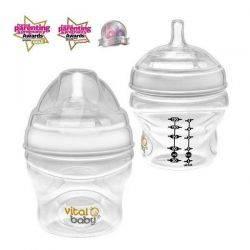 Biberon Vital Baby Breast-like 150mlx2buc, 0 luni+ Vital Baby