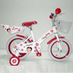 Bicicleta Betty Boop Kiss 14 Pink/ 14 Red