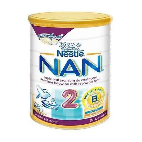 Lapte Praf Nestle Nan2 x 800g
