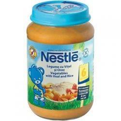 Nestle Piure legume vitel si orez x 200g