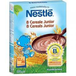 Cereale Nestle 8 Cereale Junior x 250g
