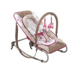 Balansoar portabil Bubble pink Babymoov