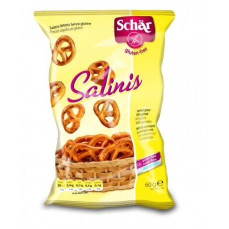 Salinis Prezel fara gluten x 60g Dr. Schar