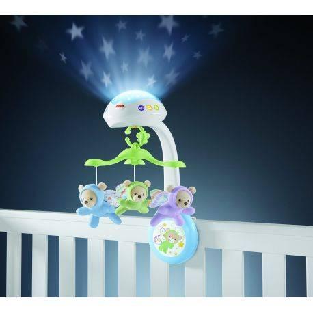 Carusel cu proiectie Butterfly Dreams - Fisher-Price