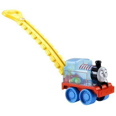 Antepremergator Locomotiva Thomas cu bile si maner Fisher-Price