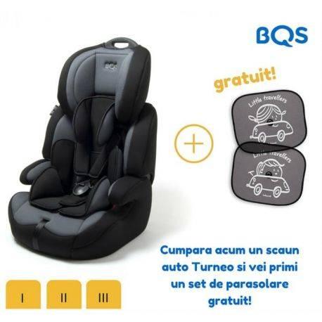 Scaun auto Turneo 9-36 kg Grey BQS