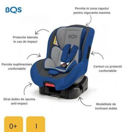 Scaun auto 0-18 kg Nonna Blue BQS