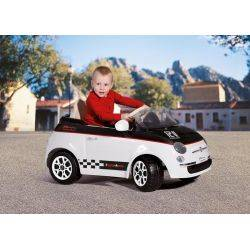 Fiat 500 12V White/Black Peg Perego