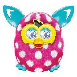 Furby Boom Roz Alb - Noua Generatie
