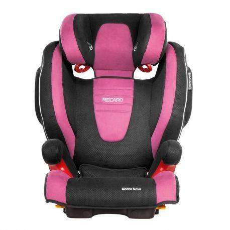 Scaun Auto pentru Copii fara Isofix Monza Nova 2 Pink