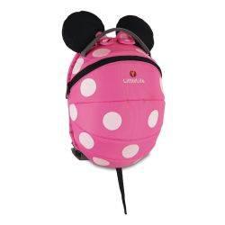 Rucsac mare, pentru copii, Disney Minnie Roz 2015