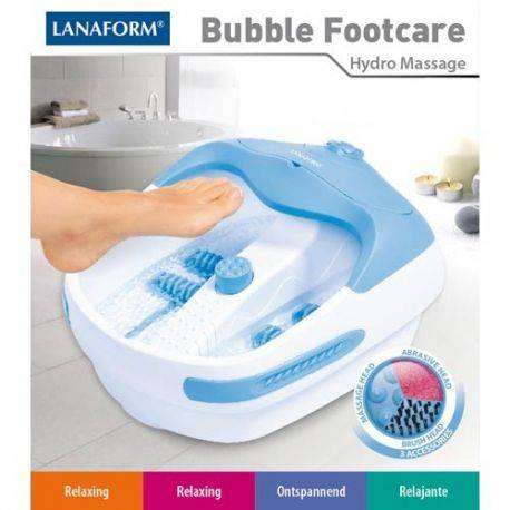 Aparatul de masaj Bubble Footcare la Lanaform