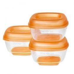 8 recipiente mici pentru congelat Pres 'n' Pop, 4luni+ Vital Baby