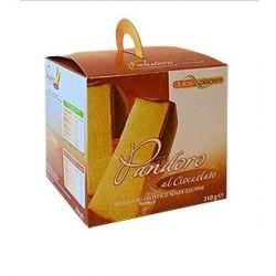 Pandoro fara gluten cu ciocolata x 250g Dolce Piacere