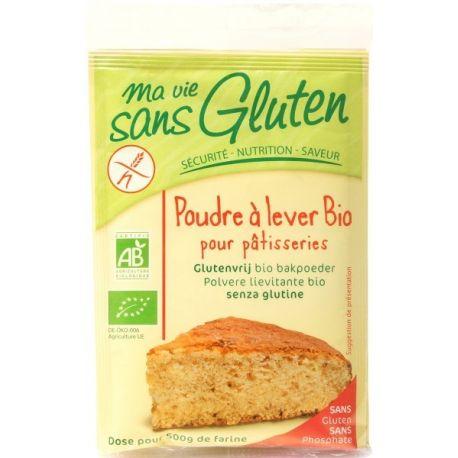 Praf de copt pentru patiserie bio 3x17g Ma vie sans gluten