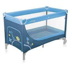 Patut pliabil Simple Blue Baby Design