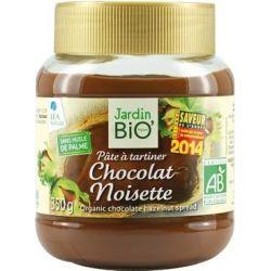 Pasta de cacao cu alune bio x 350g JardinBio