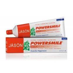 Pasta de dinti Power Smile, fara fluor, pt. albirea dintilor, 170g Jason