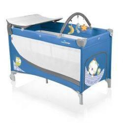 Patut pliabil cu 2 nivele Baby Design Dream