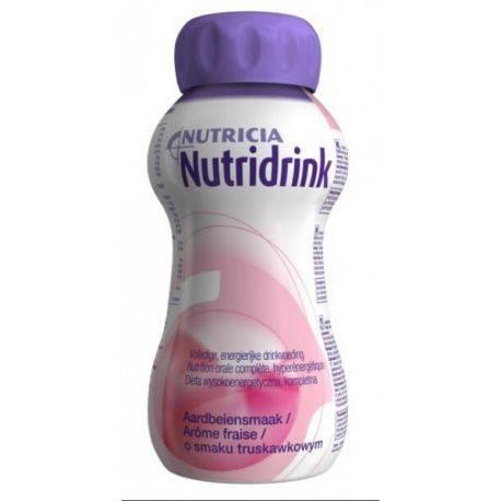 Nutridrink capsuni x 200ml Nutricia