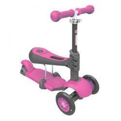 Trotineta Glider 3 in1 Pink Yvolution