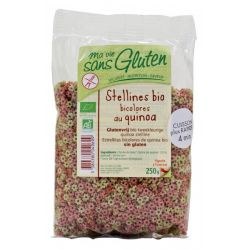 Stelute bicolore cu quinoa fara gluten bio x 250g Ma vie sans gluten
