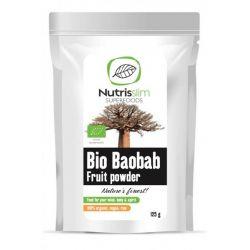 Pudra de fruct de baobab bio x 125g Nutrisslim