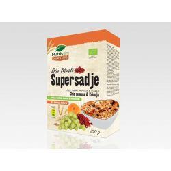 Muesli Super Fructe bio x 250g Nutrisslim