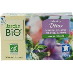 Ceai din plante Detoxifiere bio (20 plicuri) x 30g JardinBio