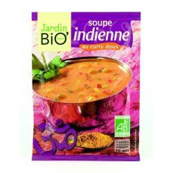 Supa indiana cu curry dulce bio x 40g JardinBio