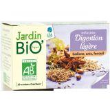 Ceai din plante: Digestie usoara bio (20 plicuri) 30g JardinBio