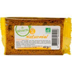Mini turta dulce cu miere bio NATURMIEL 2X20G Bisson