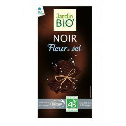 Ciocolata neagra cu cristale de sare bio x 100g JardinBio