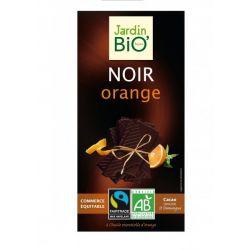 Ciocolata neagra cu portocola bio x 100g JardinBio