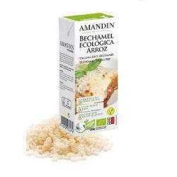 Sos Bechamel din orez bio fara gluten x 200ml Amandin