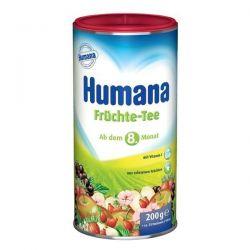 Ceai Humana cu gust de fructe de la 8 luni x 200g