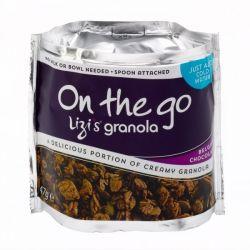 Snack Granola cu ciocolata belgiana x 47g Lizi's