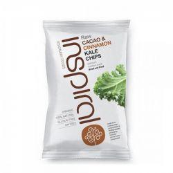 Chips bio raw vegan din kale cacao si scortisoara x 60g Inspiral