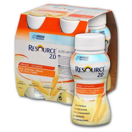 Nestle Resource 2.0 vanilla x 200ML (4buc)