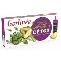 Shot detoxifiant anghinare x 70ml (7x10ml) Gerlinea