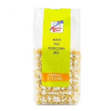 Porumb bio pentru floricele (popcorn) x 500g La Finestra sul Cielo