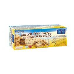 Biscuiti fara gluten cu crema Toffee x 200g Bezgluten