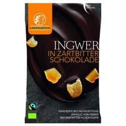 Ghimbir in ciocolata amaruie ECO x 70g Landgarten
