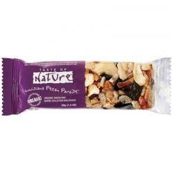 Baton bio cu cirese si nuci pecan Taste of Nature x 40g (vegan, fara gluten)